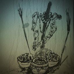 Shrine Sketch with #UrbanSketchers