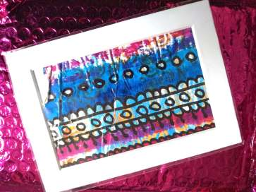 Upcycled Mailed Art